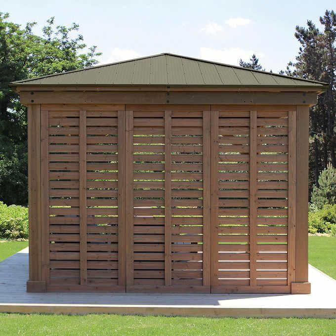 Best 12 Gazebo Privacy Wall In 2020 With Images Pergola 640 x 480
