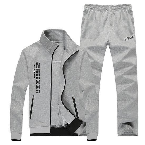 Men's Tracksuits Casual Sportwear Jogger Tracksuits Red, Black, Grey