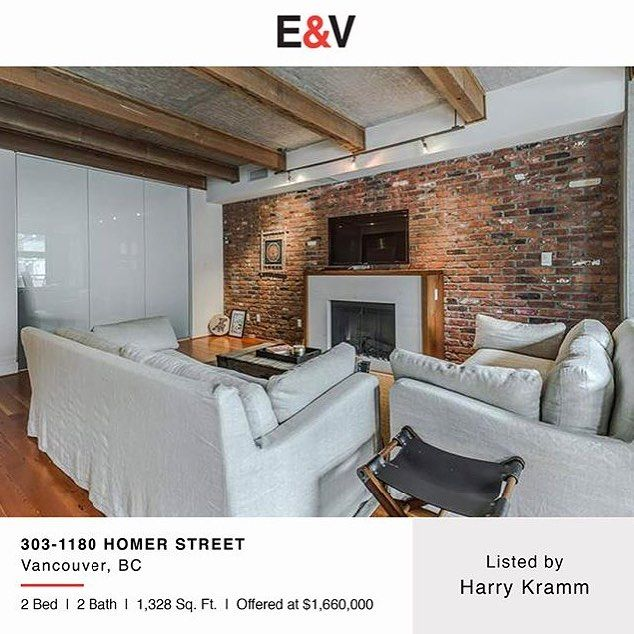 OPEN HOUSE YALETOWN -  TODAY (SAT.) 2-4pm at this unique 2 bedroom loft in the heart of Yaletown. Hope to see you on this beautiful summers day! . -  Info: themcmasteryaletown.com  Address: 1180 Homer Street Greeter in lobby.  MLS: R2173624  Area: 1328sqft  List Price: $1660000 . - -  #socialrealtor #socialmedia #yvrre #realtor in #yaletown #vancity #vancouverrealestate #theevlist #engelvoelkers #evvancouver #wp #linkedin #igersvancouver #instahub #instagood #love this #space #redbrick…