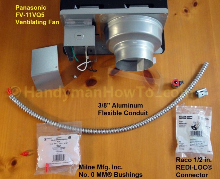 Panasonic Whisperceiling Bathroom Fan Wiring And Mounting