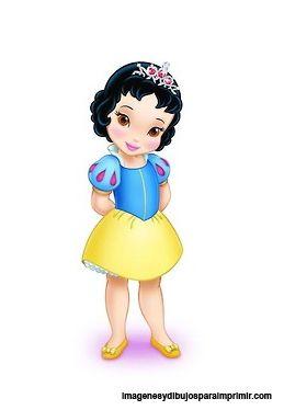Princesas disney bebes para imprimir, Las princesas disney en dibujos para imprimir llegan a imagenesydibujosparaimprimir.com con una nue...