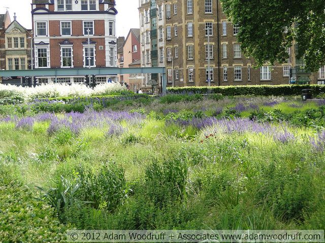 Potters Field Park in London by Adam Woodruff and Associates.