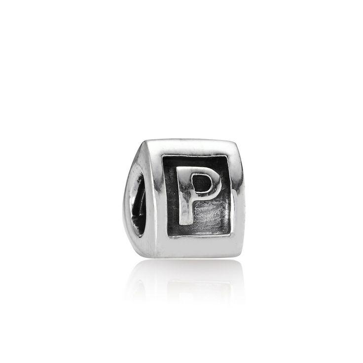 Alphabet P Charm