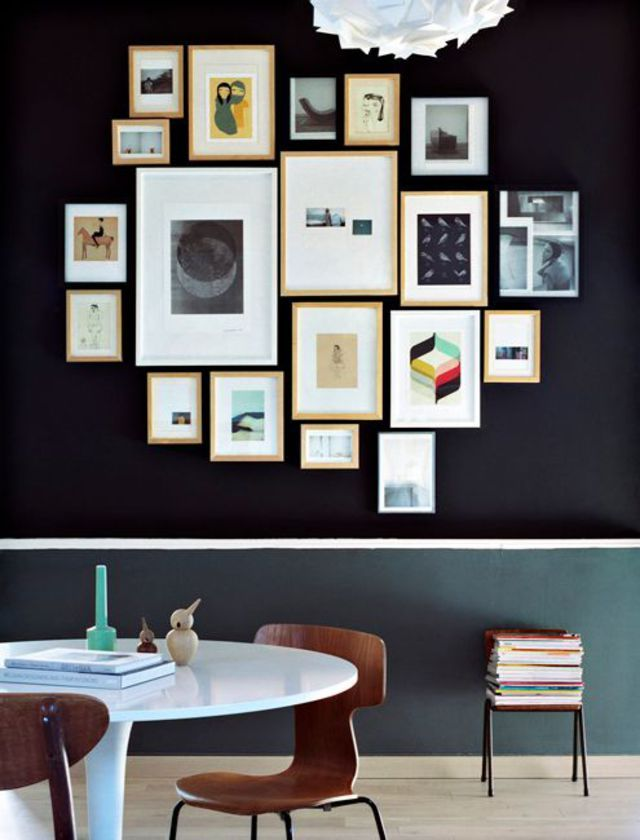 1000 id es sur le th me arrangements de cadre de mur sur pinterest dispositions du cadre. Black Bedroom Furniture Sets. Home Design Ideas