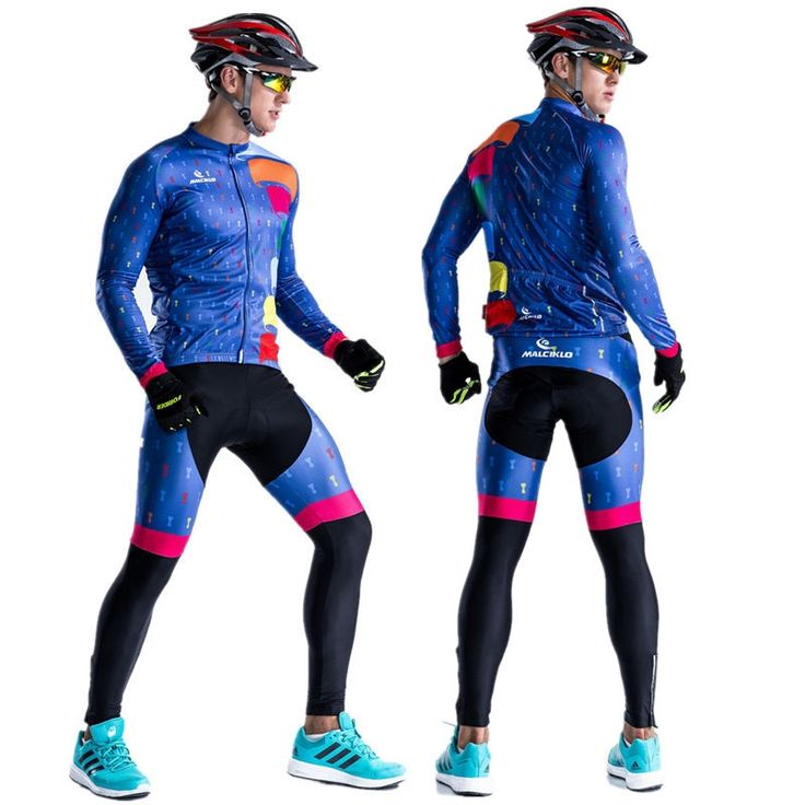 32.99$  Buy now - http://aliixv.shopchina.info/go.php?t=32802230155 - High Quality Long Sleeve Road Bike Jersey Cycling Suit Reflective Breathable MTB Cycling Clothing Men's Cycling Jersey Set 2017 32.99$ #buymethat