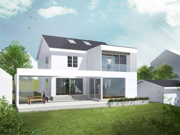 tilbygg betong tre google sk - Moderne Huser 2015