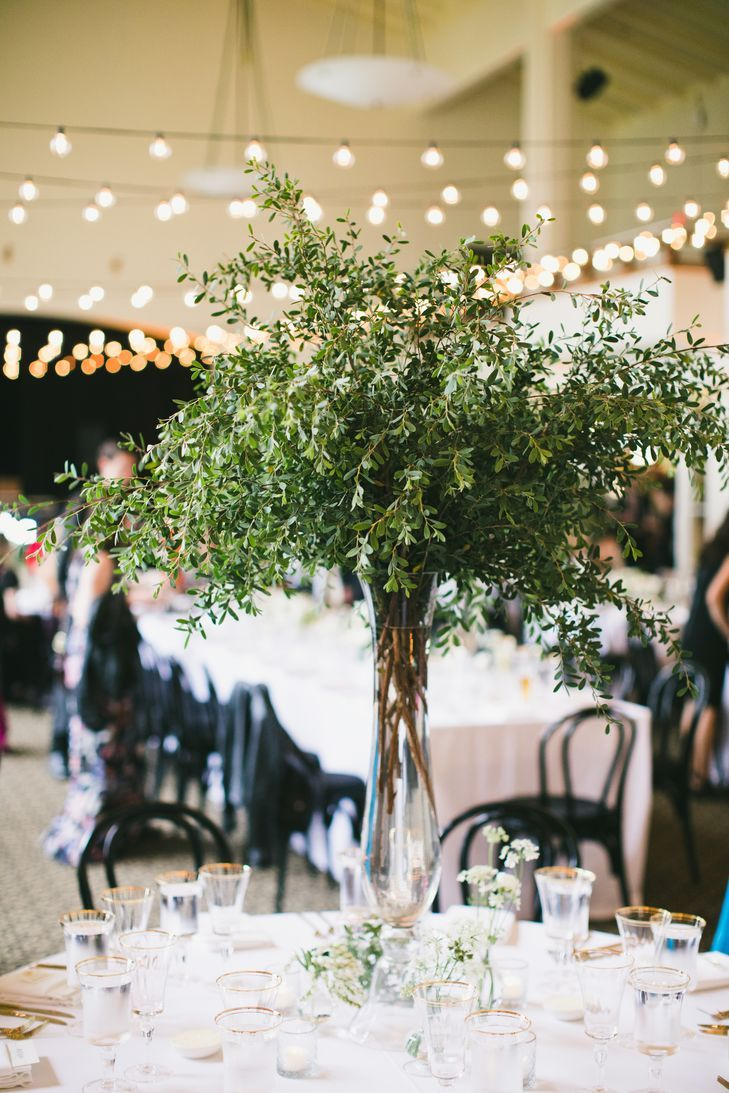 Tall Centerpieces With Greenery Tree Like Centerpieces Tall Centerpieces Simple Wedding Centerpieces Tall Glass Vases Centerpiece