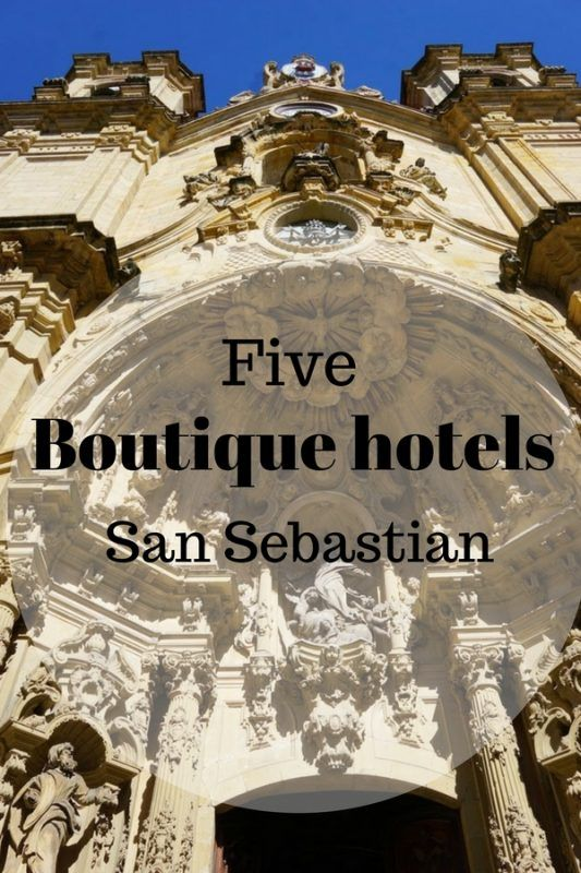 Five Best Boutique Hotels In San Sebastian