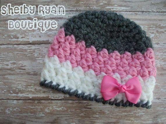 Crochet Pattern for Charisma Beanie 5 sizes by crochetbyjennifer, $4.95