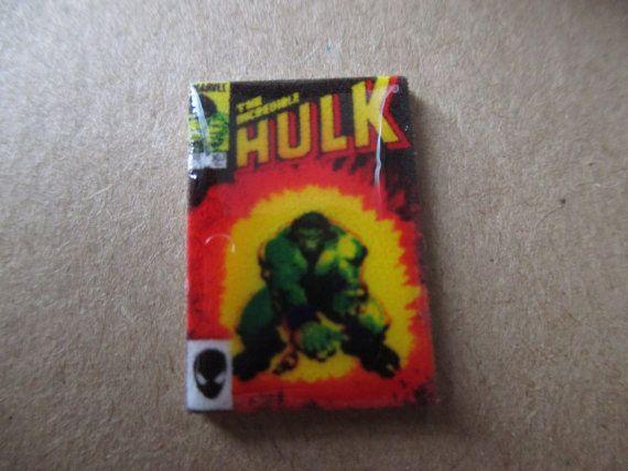 Incredible Hulk Comic Book Cover Cufflinks / by CraftieFoxGifts