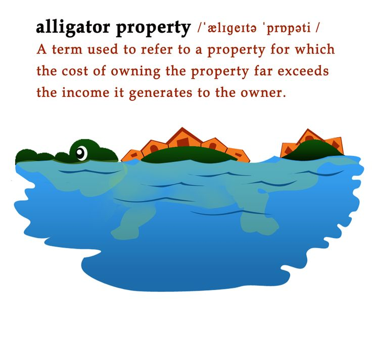 When you buy a home, make sure that it's not an ‪#‎AlligatorProperty‬!