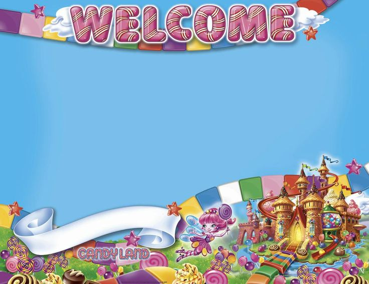Candy Land Welcome Poster | EU-837035
