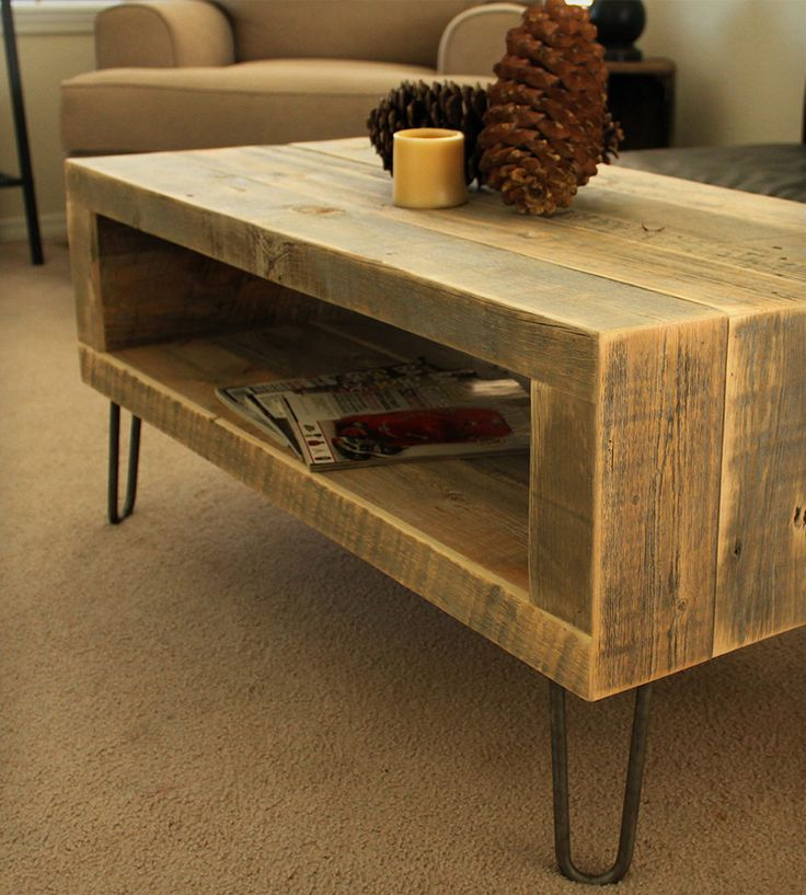 Small Reclaimed Wood Media Console. beautiful