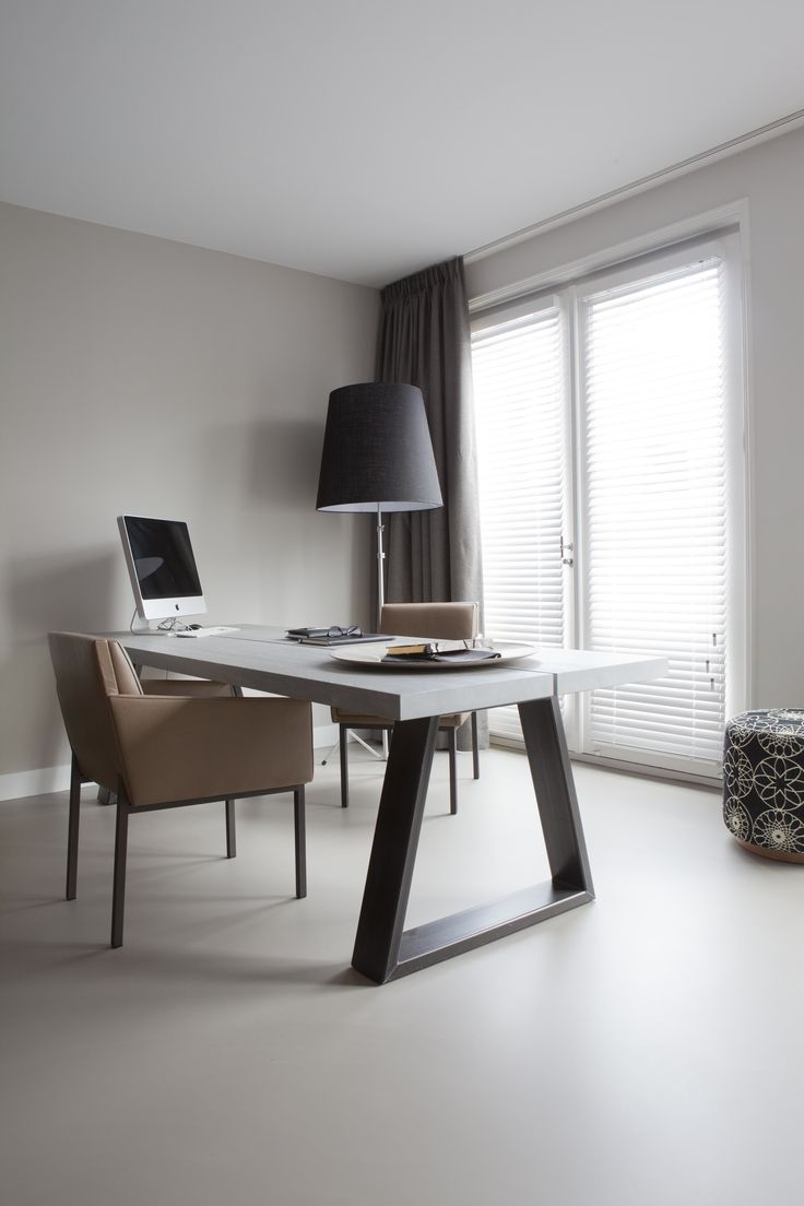 Penthouse Amsterdam; study; design Remy Meijers