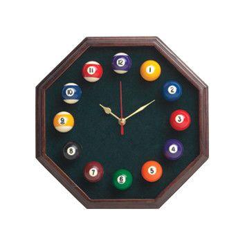 Cuestix Novelty Items Octagon Clock