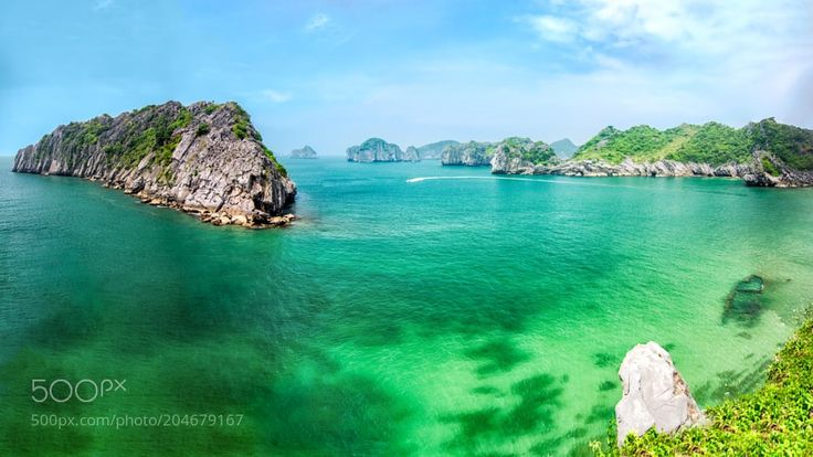 Cat Ba Archipelago by ViktorGoloborodko from http://500px.com/photo/204679167 - Cat Ba is the largest of the 367 islands spanning 260 km2 (100 sq mi) that comprise the Cat Ba Archipelago which makes up the southeastern edge of Ha Long Bay in Northern Vietnam. Wiki.. More on dokonow.com.