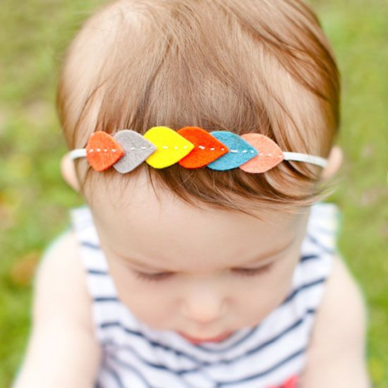Learn how to create this fun leaf garland headband. Perfect for you or your little one!