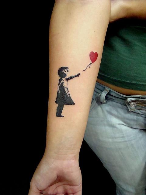 Banksy | Banksy tattoo, Name tattoos, Tattoos