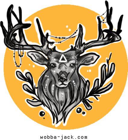 Significato Tatuaggio Cervo. Il cervo in lotta col serpente, analogamente all'aquila che combatte col serpente, rappresenta il conflitto tra gli opposti.