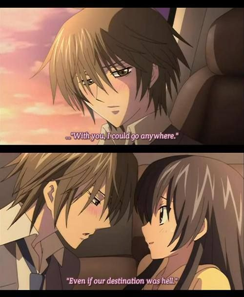 He really has a fever (Kei and Hikari) this is such a hilarious anime. Love it!