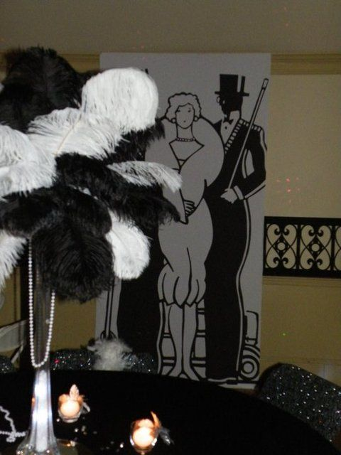 47 best harlem night theme party images on pinterest for 1920s decoration party