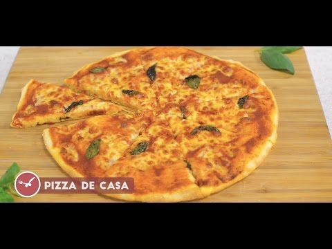Pizza Margherita de casa - Reteta video
