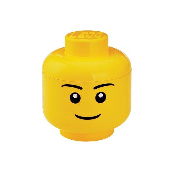 Boite de rangement - Tête Lego - Garçon