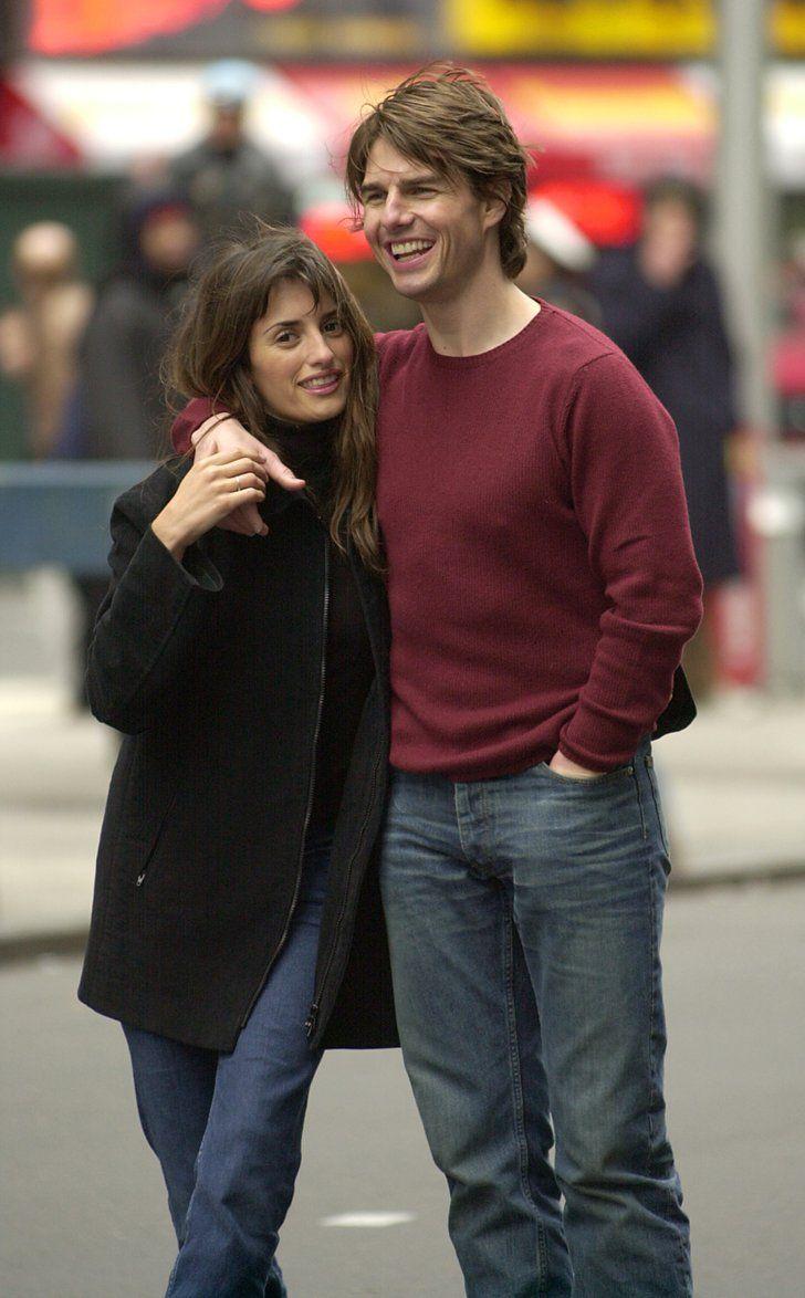 Pin for Later: 66 Couples de Célébrités Que Vous Aviez Totalement Oublié Penelope Cruz et Tom Cruise Tom et Penelope se sont rencontrés en 2001 sur le tournage de Vanilla Sky, mais ont rompu en 2004.