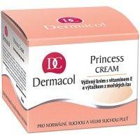 Dermacol princess cream 50ml  Suchá pleť je velmi křehká, citlivá a náchylná k předčasné tvorbě vrásek. Velmi oblíbený krém obsahuje výtažky z mořských řas, které mají zpevňující účinky a přispívají k regeneraci kožních buněk.118,- KčCena s DPH