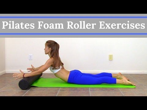 Pilates Foam Roller Exercises - 14 Minute Full Body Foam Roller Workout - YouTube
