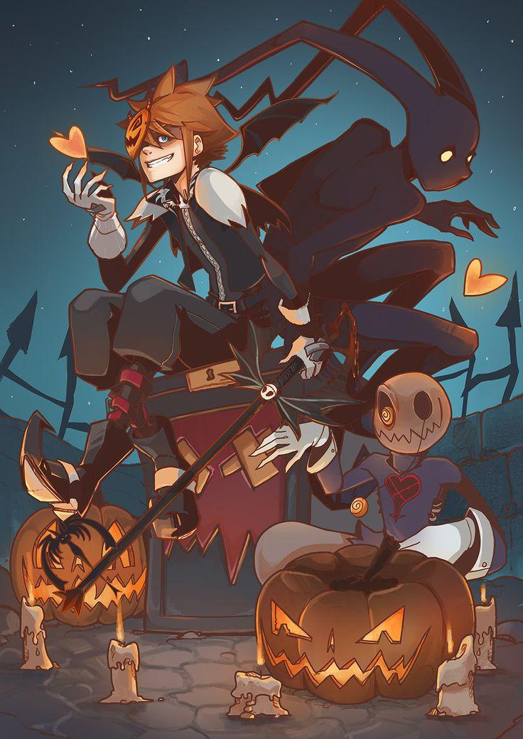 Halloween town, Enger Klaux on ArtStation at https://www.artstation.com/artwork/GJExa