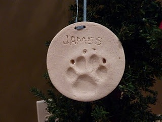 Make your own Doggie Christmas ornaments.