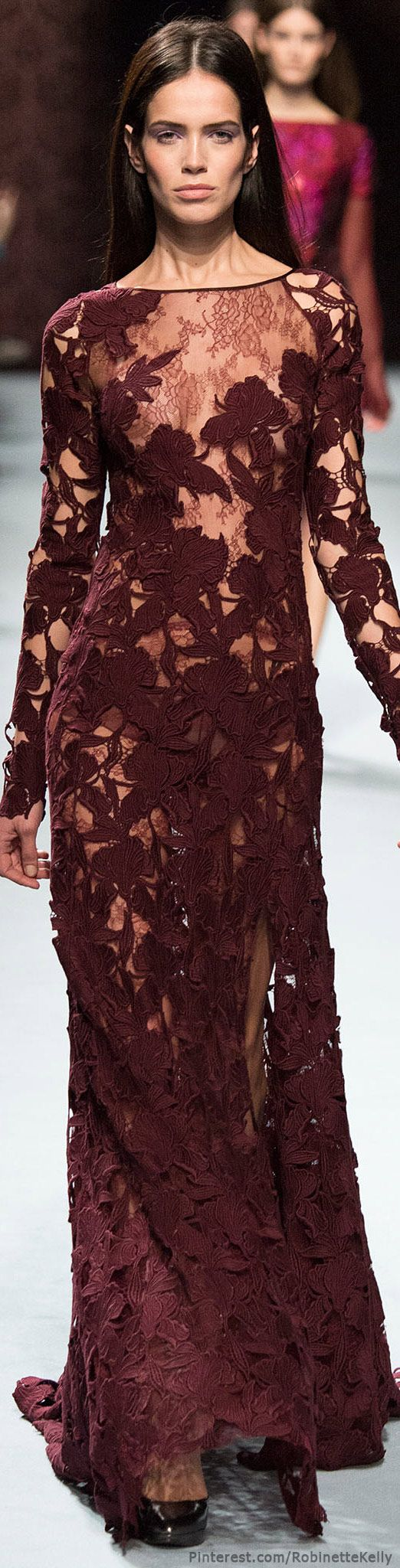 Pantone's color of the year for 2015 - Marsala - Nina Ricci | F/W 2014 RTW