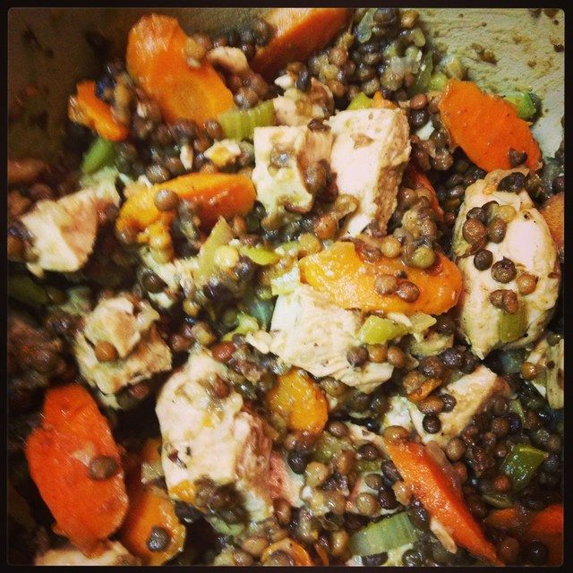 Recipe: Chicken & Lentils | Quick & Easy Dinners | Pinterest