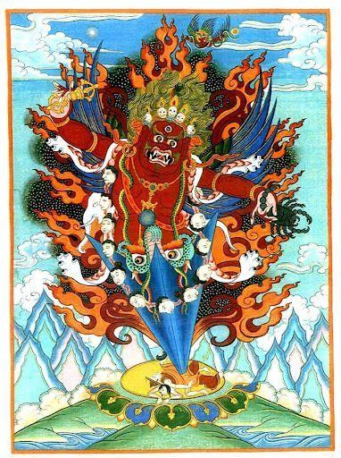 91 best dzogchen images on pinterest tibetan buddhism buddhism combination of garuda with hayagriva vajrapani vajrakilaya and yangdag heruka he is very powerful and especially useful for extreme negative harm fandeluxe Images