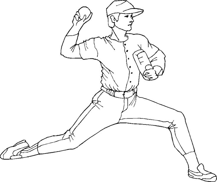 Cincinnati Reds Coloring Pages Baseball Coloring Pages Baseball Drawings Sports Coloring Pages
