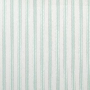 Striped Sea green fabric