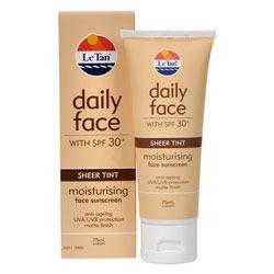 Buy Le Tan Daily Face Sheer Tint SPF 30+ 75.0 ml - Priceline Australia $9.59