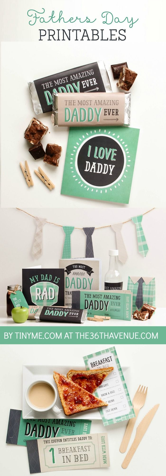 Father's Day Free Printables and Gift Idea by tinyme.com at the36thavenue.com