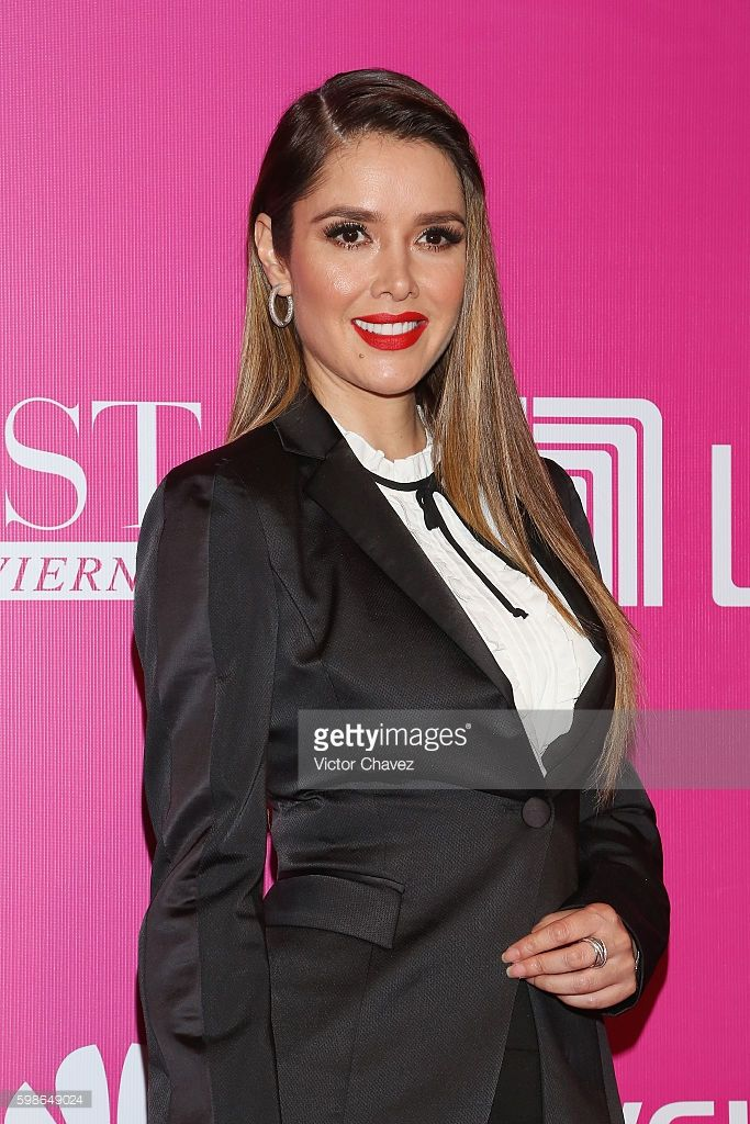 Marlene Favela attends the Liverpool Fashion Fest Autumn/Winter 2016 at Televisa San Angel on September 1, 2016 in Mexico City, Mexico.