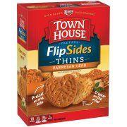 Keebler® Town House® Pretzel Thins Parmesan Herb Crackers 10 oz. Box Image 1 of 6