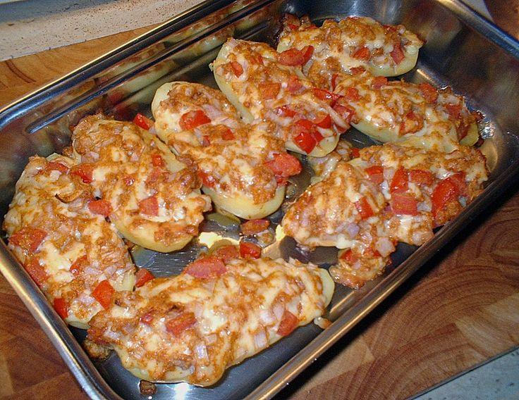 Chefkoch.de Rezept: Gefüllte Kartoffeln