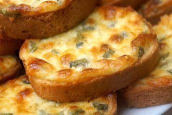 Сырные гренки «Пятиминутки»: просто пальчики оближешь