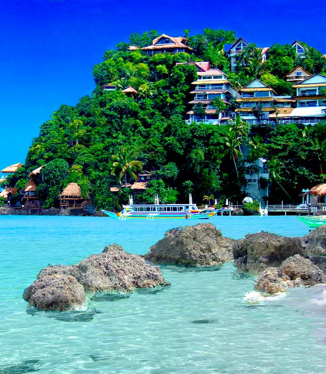 Incredible Travel Destinations: Nami Resort, Boracay, Philippines...Wifey, when are we going here?