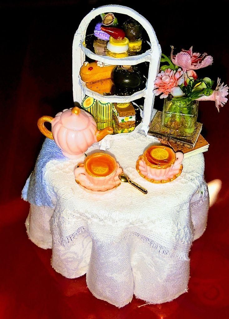 Pin by Maria Velazquez on Rose house Tea Garden Dollhouse