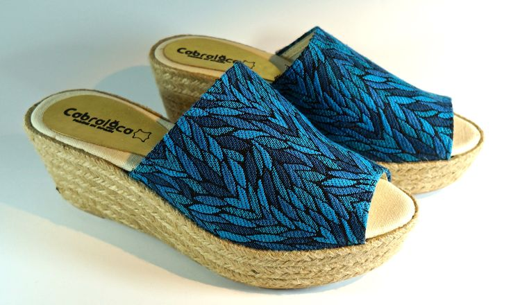Yute wedges for freshness and comfort. MA-10