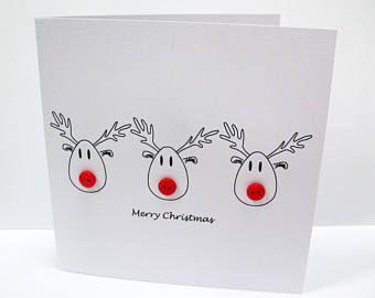 weihnachtskarte frohe christus maus karte mit knopf. Black Bedroom Furniture Sets. Home Design Ideas
