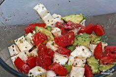 Салат с авокадо и моцареллой - пошаговый рецепт с фото на Повар.ру