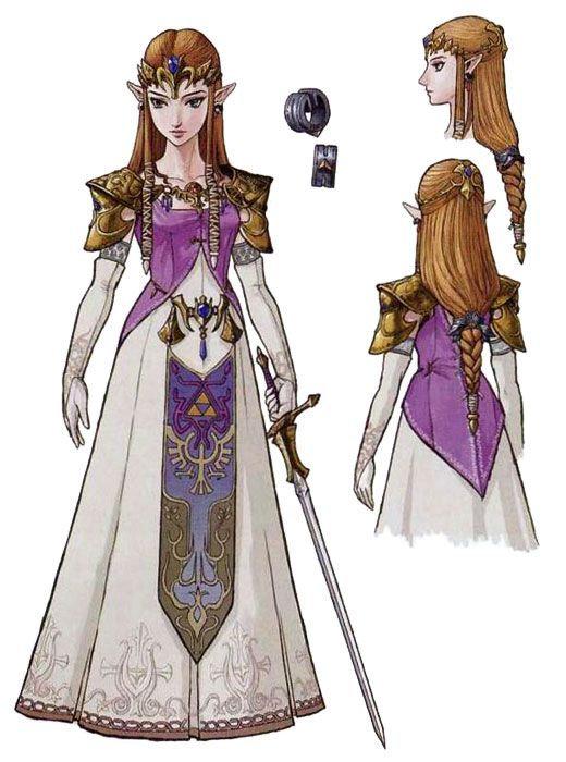 Twilight Princess Zelda | Princess Zelda(Twilight Princess) Concept Art - The Legend of Zelda ...