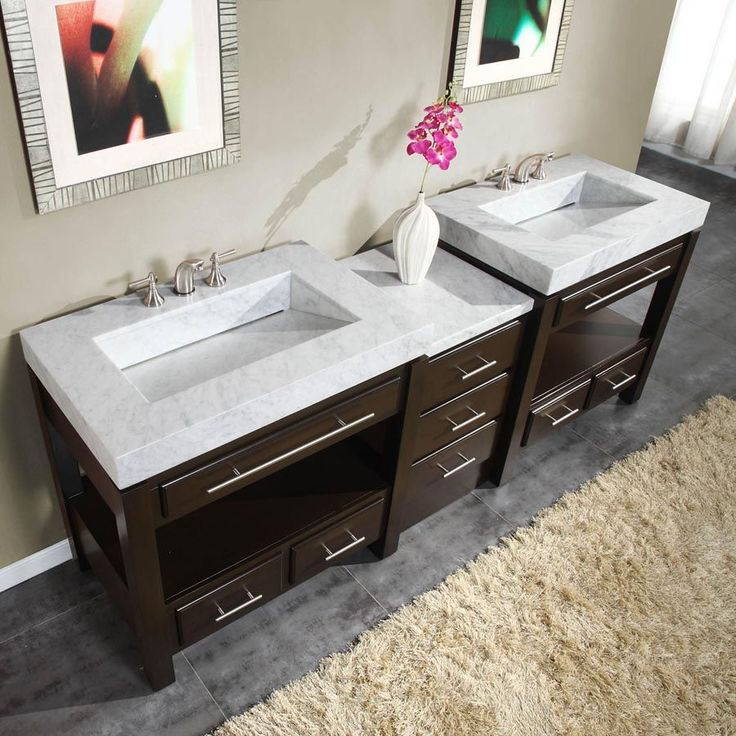 silkroad exclusive hyp 0218 wm 92 stanton 92 in on replacement countertops for bathroom vanity id=41561